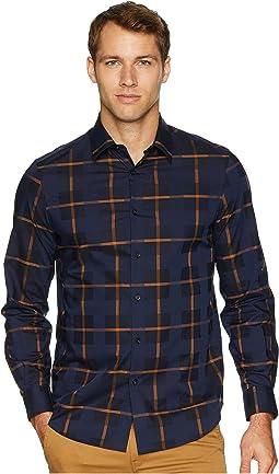 Dobby Plaid Shirt