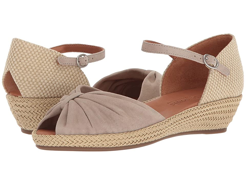Gentle Souls by Kenneth Cole Lucille (Mushroom Suede) Women