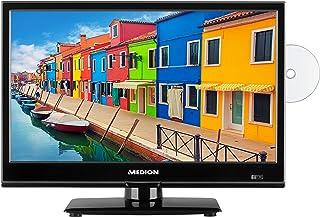 MEDION E11941 47 cm (18,5 Zoll) Fernseher (Triple Tuner, DVB T2, integrierter DVD Player, CI+, Mediaplayer, 12V KFZ Car Adapter)