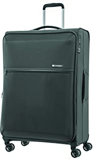 Samsonite 92328 72 Hours DLX Spinner Expandable Suitcase, Platinum Grey, 78 Centimeters