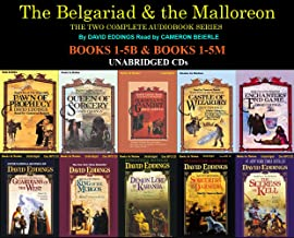 The Complete Belgariad & Malloreon Series Books 1-10 (Pawn of Prophecy, Queen of Sorcery, Magician's Gambit, Castle of Wizardry, Enchanters End Game, Guardians of the West, King of the Murgos, Demon Lord of Kranda...) Unabridged CD David Eddings