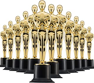 """Prextex 6"""" Gold Award Trophys for Award Ceremony`s or Party (24 Pack)"""