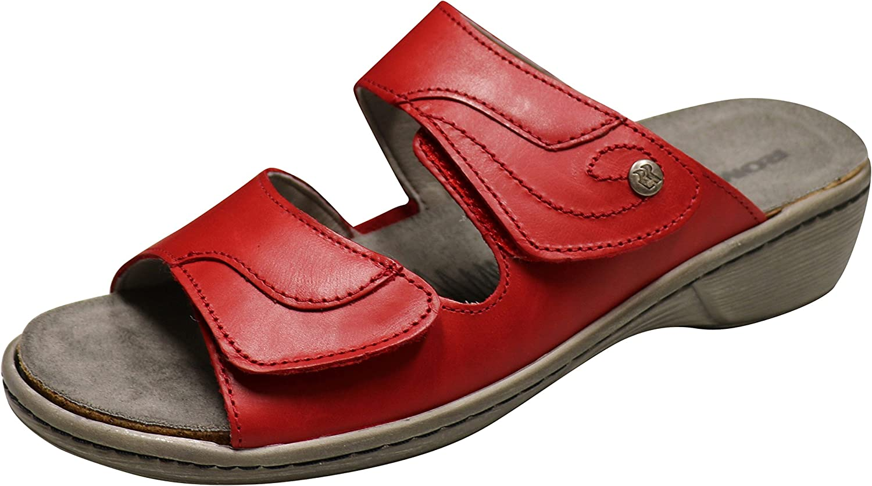 ROMIKA Kvinnors Kvinnors Kvinnors Mainau 17 Dress Sandal röd  snabb frakt till dig