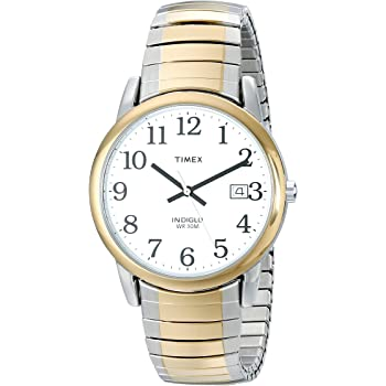Timex Men's Easy Reader Date Expansion Band Watch