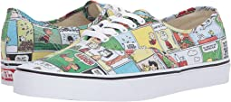 Vans Authentic X Peanuts Collaboration