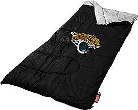 حقيبة نوم NFL Jacksonville Jaguars ، مقاس كبير، ألوان الفريق