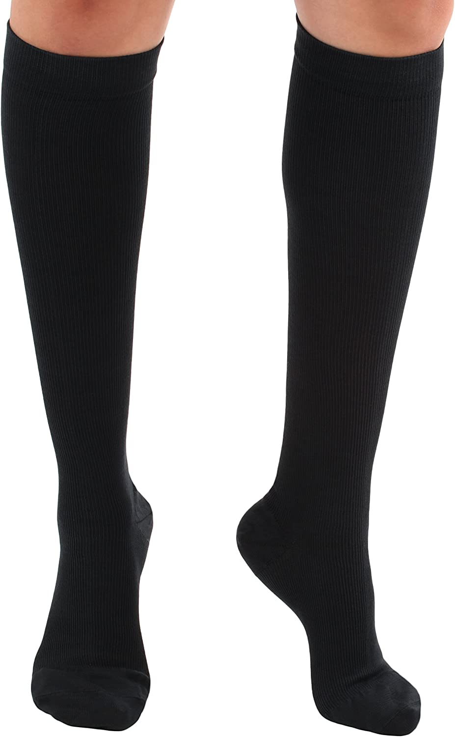 Mojo Compression Socks Unisex Knee-Hi Our shop OFFers the Complete Free Shipping best service Travel Stockings 15-20mmHg