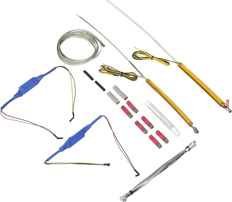 Custom Dynamics TW39AA 360 Degree Light Free shipping New Fork LED Housing Amber Recommendation