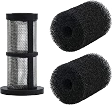 Romalon 48-222 in-Line Filter Screen Compatible with 480, 380, 280, 3900&2 Pack of 9-100-3105 Sweep Hose Tail Scrubber Poo...