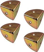 ALPENSTAAL Kisthoeken afgerond meubelhoeken vintage   metalen randbescherming voor hoeken, kisten, koffers   hoekhoek staa...
