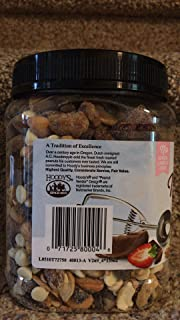 Hoody's Neapolitan Trail Mix Vanilla Creme Almonds, Roasted & Salted Cashews, Semi-Sweet Chocolate Chips, Dried Strawberries and Greek Style Yogurt Flavored Confectionary Drops 33 Oz