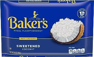 Baker's Angel Flake Sweetened Coconut (14 oz Bags, Pack of 10)