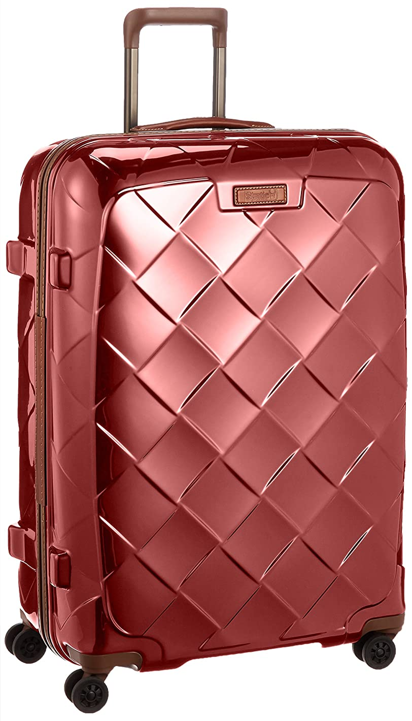 国際バリケードギャラントリー[ストラティック] スーツケース ジッパー レザー&モア 大型 グッドデザイン賞 保証付 100L 75 cm 4.36kg