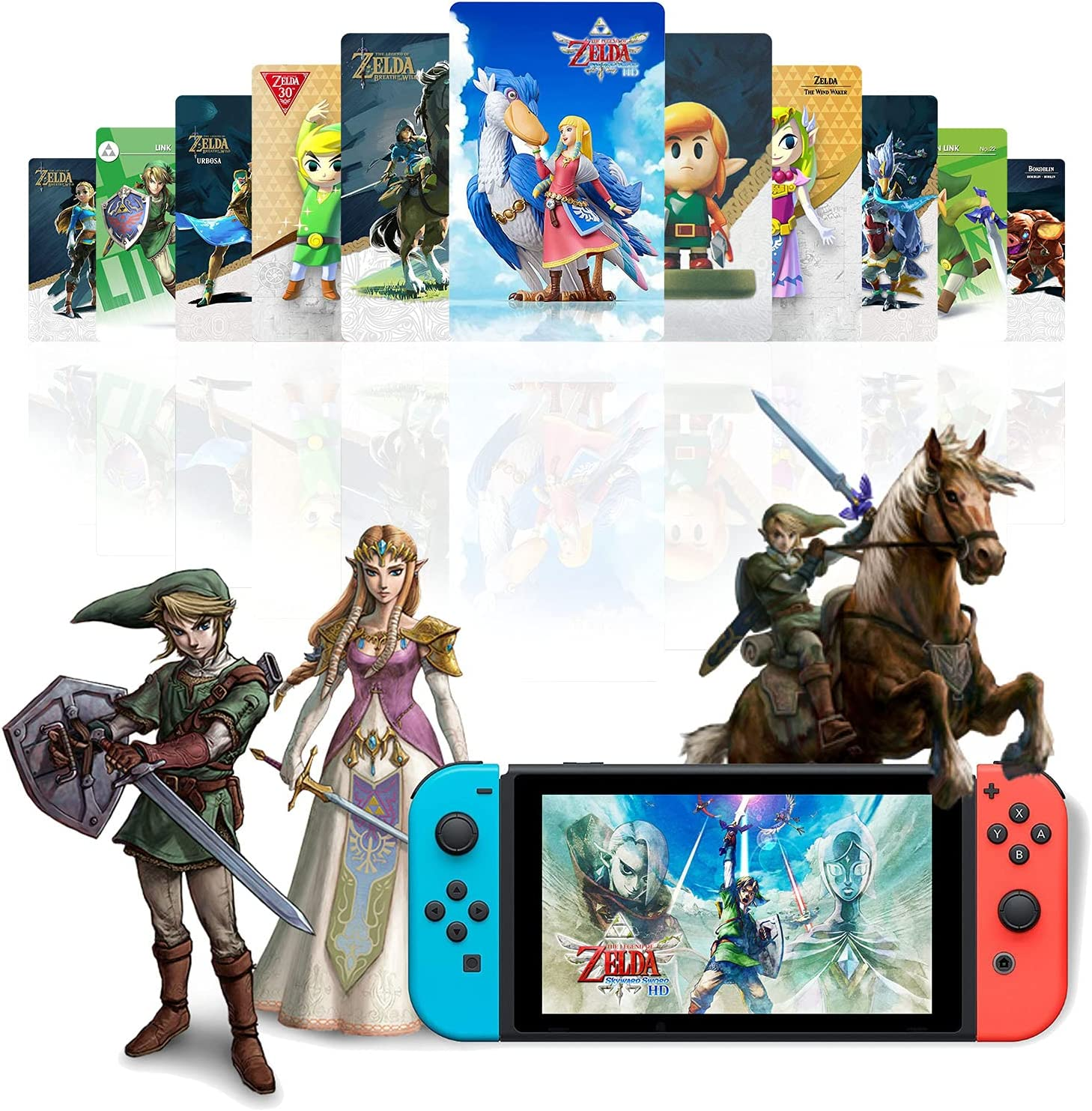 25Pcs NFC Tags Game Cards for Zelda:Skyward Max 46% OFF of New arrival Sword The Legend
