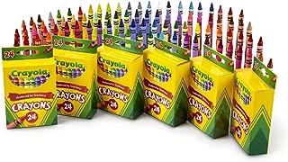Crayola 繪兒樂 蠟筆 學校和藝術品 6件 24支