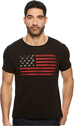 John Varvatos Star U.S.A. - Skull Flag Graphic K3725U1B