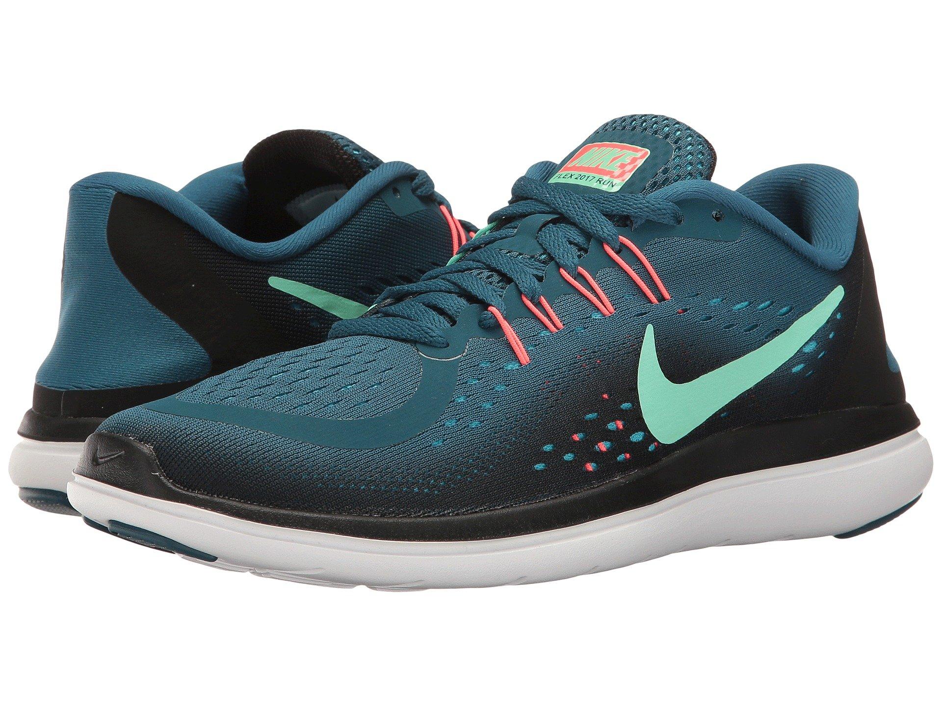 3eec2139b2fd1 Nike Flex Rn 2017 In Legion Blue Green Glow Black Hot Punch