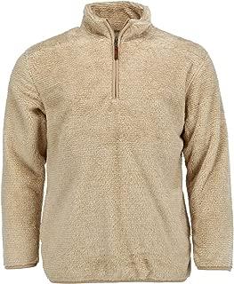 Boxercraft Men's Fuzzy Fleece Quarter Zip Pullover