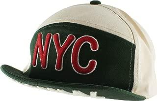 Flip Up Short Brim NYC Casual Baseball Cap Adjustable Hat