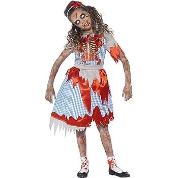 SmiffyS 44284S Disfraz De Chica De Campo Zombi Con Vestido Y ...
