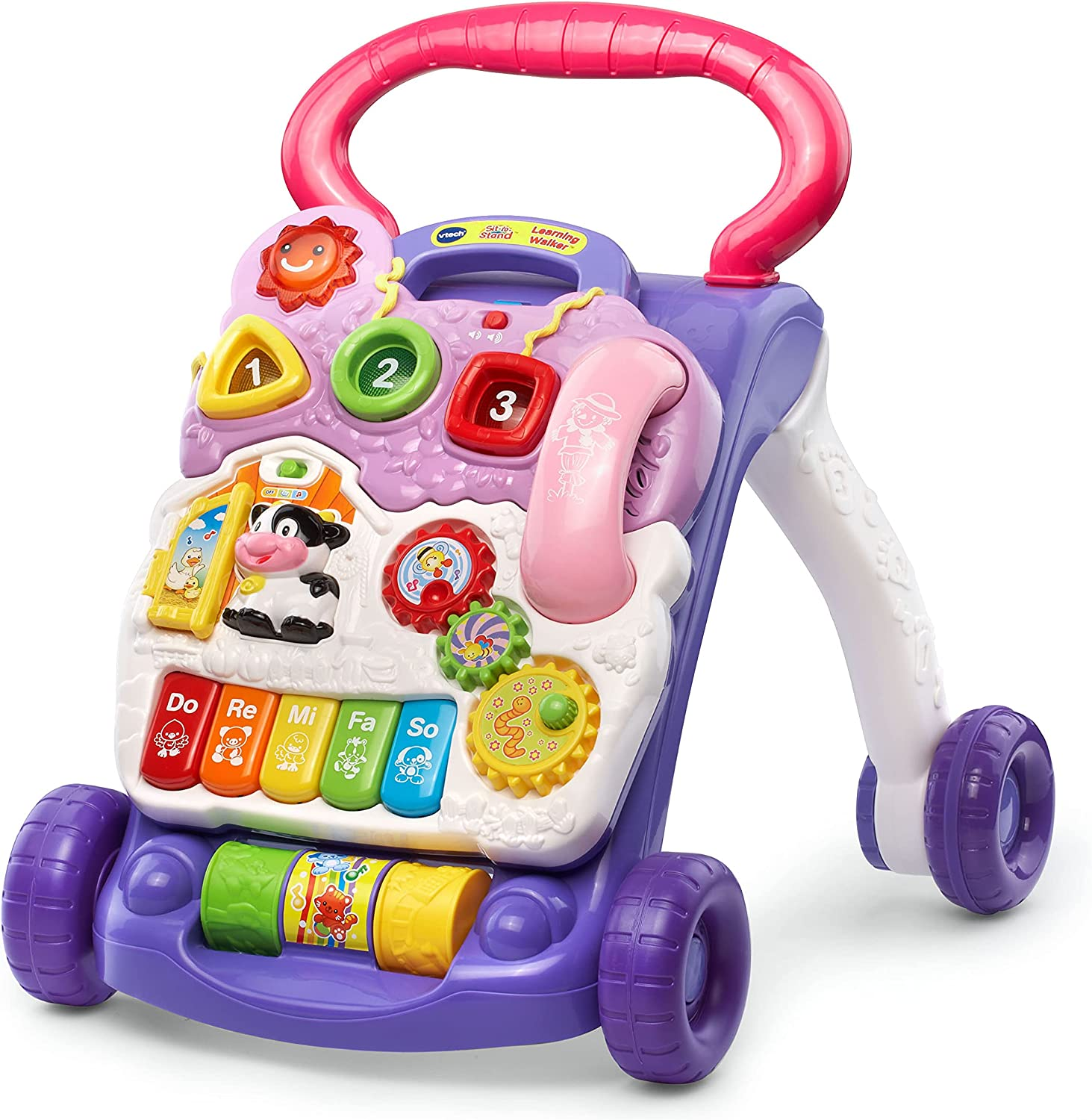Choice VTech Cheap Sit-to-Stand Learning Walker Free Packaging Frustration