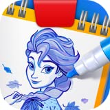 Learn to draw your favorites! Become best pals with all your Disney favorites, as you follow expert guidance and learn to draw them yourself. Bring the Frozen 2 movie experience to your home with awesome drawing skills. From the silver screen to your...
