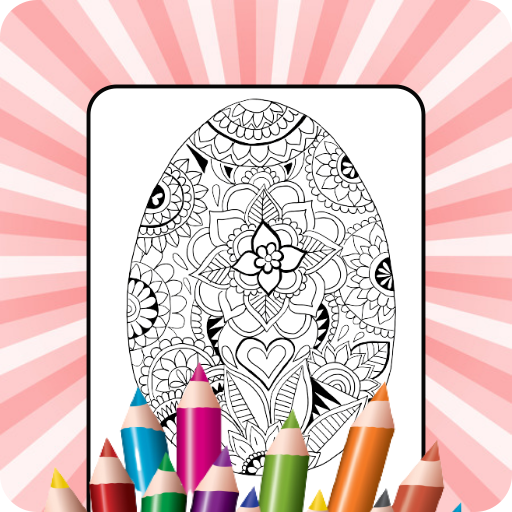 Easter Eggs Coloring Games 2K21