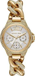 Michaël Kors - Women's Camille Quartz Watch with Stainless Steel Strap, Gold, 9 (Model: MK6842)