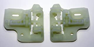 RegulatorFix Window Regulator Repair Clips (2) - Front Pair (Left or Right) Compatible/Replacement for BMW X5 E53