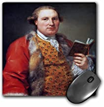 3dRose BLN Book and Reading Featured in Fine Art – Archibald Menzies, 1763 by Anton Von Maron – MousePad (mp_170921_1)