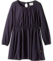 Armani Junior - Sparkle Long Sleeve Dress (Toddler/Little Kids/Big Kids)
