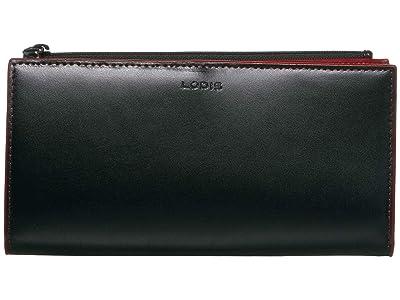 Lodis Accessories Audrey Kinsley Wallet (Black) Handbags