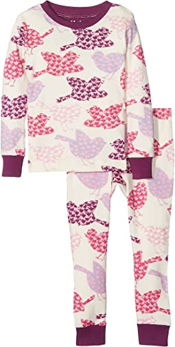 Hatley Kids - Lots of Birds PJ Set (Toddler/Little Kids/Big Kids)