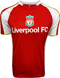 Liverpool FC Training Jersey for Kids and Adults, Officially Licensed Training Performance Jersey, Shirt