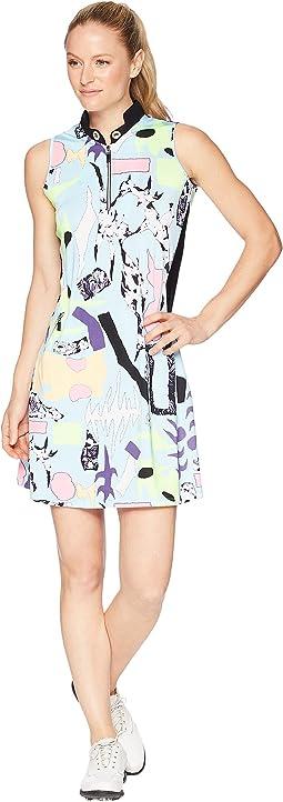 Cirque Print Dress