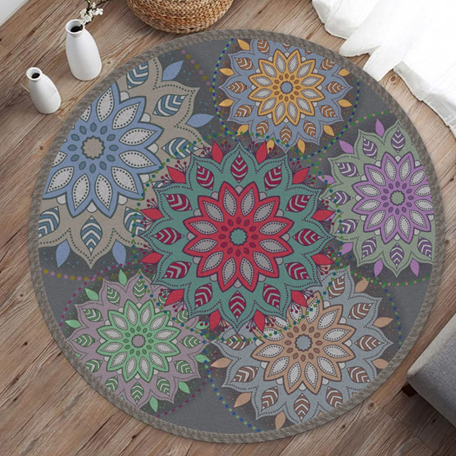 Round Chair Mat Floor Protector Office Home for Hardwo sold out Non-Slip mart