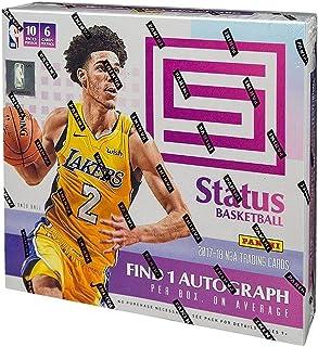 2017/18 Panini Status NBA Basketball HOBBY box (10 pk)