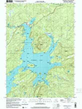 YellowMaps Cranberry Lake NY topo map, 1:24000 Scale, 7.5 X 7.5 Minute, Historical, 1999, Updated 2001, 26.9 x 22 in