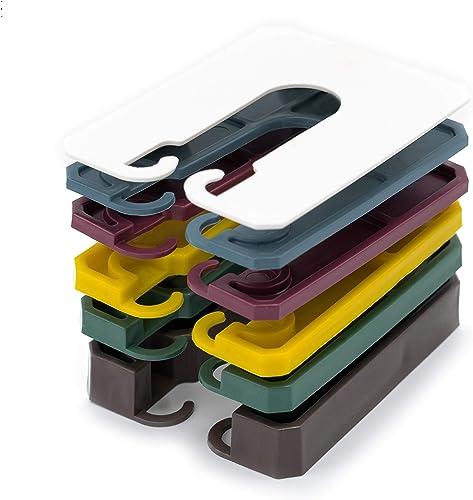 Innonexxt® Lot de 400 entretoises de qualité supérieure | 60 x 45 mm | Plaques d'espacement, entretoises en plastique...
