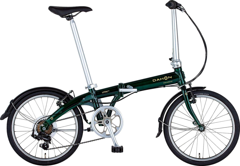 DAHON(ダホン) Vybe D7 インターナショナルモデル フォールディングバイク 20インチ 2019年モデル [外装7段変速 アルミフレーム] ABA071
