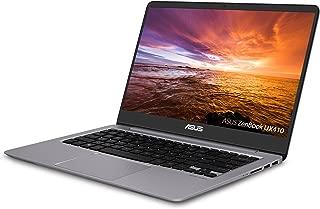 "ASUS ZenBook Ultra-Slim Laptop - 14"" FHD IPS WideView Display,  Intel Core i7-8550U CPU, 8GB DDR4, 128GB SSD + 1TB HDD, Windows 10, Backlit keyboard, 3.1lbs, Quartz Grey - UX410UA-AS74"