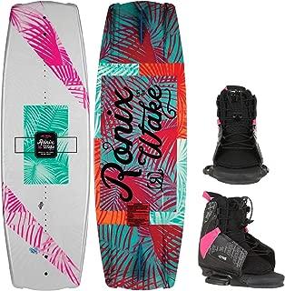 RONIX Krush Wakeboard Womens Sz 134cm + CTRL Bindings Sz S/M (5-8.5)