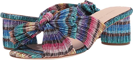Rainbow Pleated Lame