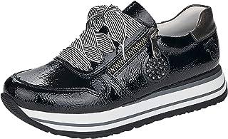 Rieker Damen Low-Top Sneaker N3512, Frauen Halbschuhe,Schnürschuhe,lose Einlage