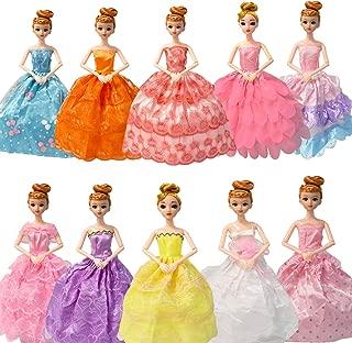 Best barbie princess dress Reviews