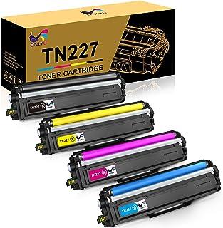 Best ONLYU Compatible Toner Cartridge Replacement for Brother TN227 TN-227 TN227BK TN223 TN 227 for HL-L3210CW HL-L3230CDW HL-L3270CDW HL-L3290CDW MFC-L3710CW MFC-L3750CDW MFC-L3770CDW (4 Pack) Reviews