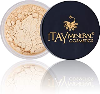 Itay Loose Powder Foundation Travel Size Foundation – All Natural Mineral Makeup By Itay Mineral Cosmetics (MF1 – Cream Ma...