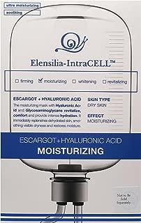 Moisturizing Escargot (Snail) & Hyaluronic Acid Sheet Mask by Elensilia-Intracell for ANTI AGING / REVITALIZING / SKIN REGENERATION / BRIGHTENING - PACK of 10 Masks