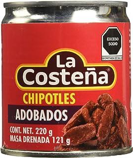 La Costena Chipotle Peppers in Adobo Sauce, 220 g