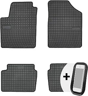 Gummimatten Auto Fußmatten Gummi Automatten Passgenau 4 teilig Set   passend für Hyundai i10 2007 2013